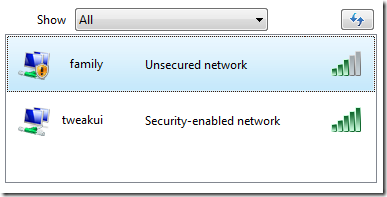 how to block unsecured wireless networks